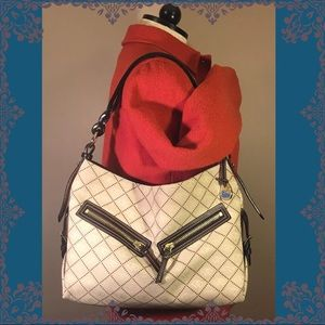 DOONEY & BOURKE SIGNATURE LEATHER HOBO Tote Bag